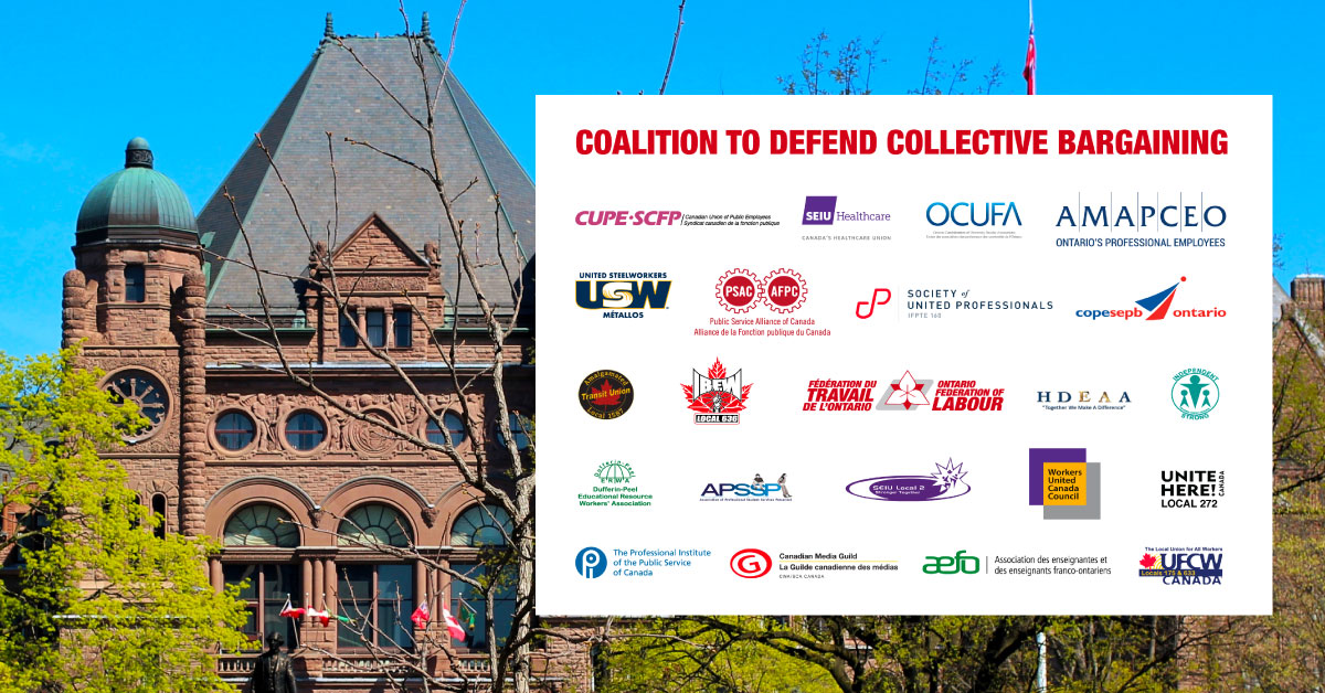 Coalition to defend protective bargaining