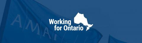 Working for Ontario